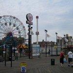 Coney Island Light ภาพถ่าย