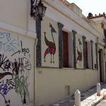 Street in Monastiraki (Athens)