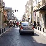 Street in Plaka , Athens