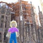 Sagrada Familia, the yet to be completed Barcelonian Cathdral. Designed by Gaudi
