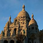 Sacre Coeur at dusk