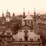 Old Town Bridge Tower ภาพถ่าย