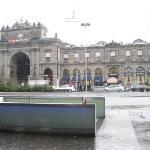 Zurich, Bahnhofstrasse train station