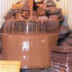 Giant chocolate fountain!