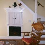"""Living room area of """"The Cottage"""""""