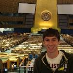 Me in the United Nations Building That was so amazing!