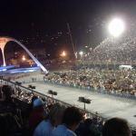 El Sámbódromo en Carnavales, considerado el mayor espéctaculo del mundo al aire libre, casi naaa