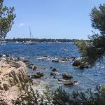 Sur l'île Ste Marguerite à Cannes