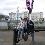 Detras el palacia Buckingham