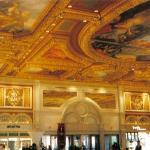 The Venetion. Our favorite Hotel in Las Vegas. Lobby ceiling