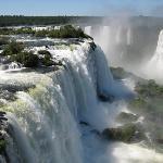 Las cataratas son patrimonio natural de la humanidad