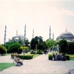 The Blue Mosque. Istambul, Turkey. May 2001. NAVD