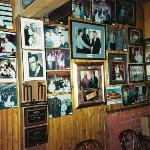 Corky's wall of fame