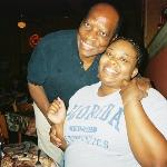 Me and the host at Corky's