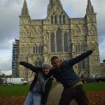 Salisbury Cathedral and Magna Carta ภาพถ่าย