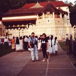 Königsschloss in Kandy, Sri Lanka