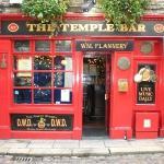 La facciata del mitico Temple Bar