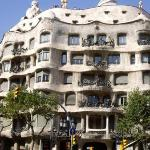 Casa Mila- another of Gaudi's amazing buildings