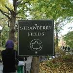 Strawberry Fields, John Lennon Memorial ภาพถ่าย