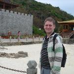 Visiting a small island resort close to Sanya.