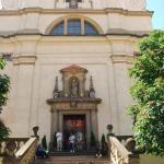 outside Infant Jesus of Prague