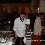 mostafa and my son