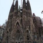 SAGRADA FAMILIA simbolo de barcelona, totalmente majestuosa