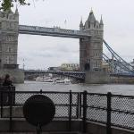 Tower Bridge, London.  Where they would jam your severed head on a spike for a  month to show wh