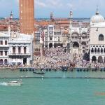 Piazza San Marco from the ship