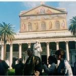 Dentro del museo del vaticano