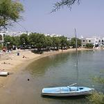 Piso Livadi beach, about 80 meters from the hotel