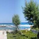 Greece Crete Chania Akrotiri Stavros Blue Beach Villas Panorama from our veranda