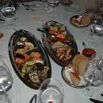 Local specialties including oysters