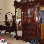 The stunning cupboard in our room.