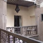 First floor balcony
