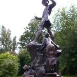 Escultura a Peter Pan en Hyde Park