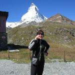 Zermatt, Switzerland looking over the Matter Horn