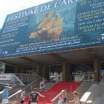 Palais des Festivals et des Congrès of Cannes ภาพถ่าย
