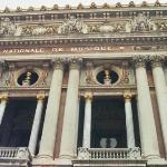 Fronton de l'opéra Garnier