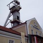 The Wieliczka Salt Mine shaft