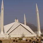 Shah Faisal Mosque in Islamabad (The US government was suspicious about the 4 pillars as they be