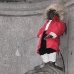 Manneken Pis ภาพถ่าย