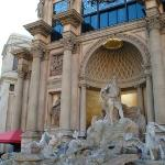Outside the Caesar's Palace
