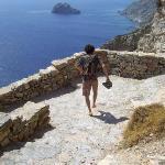 Photo de Aegiali Beach