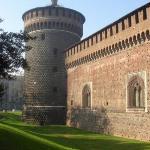 Castello Sforzesco ภาพถ่าย