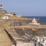 Old San Juan Fort and Cementary