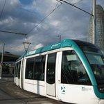 Tram i Torre Agbar