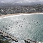 San Sebastian - Vista Playa de la Concha desde el Monte Urgull