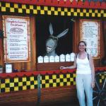 Donkey and me at Universal Studios LA