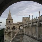 Fisherman's Bastion on Castle Hill in Buda.